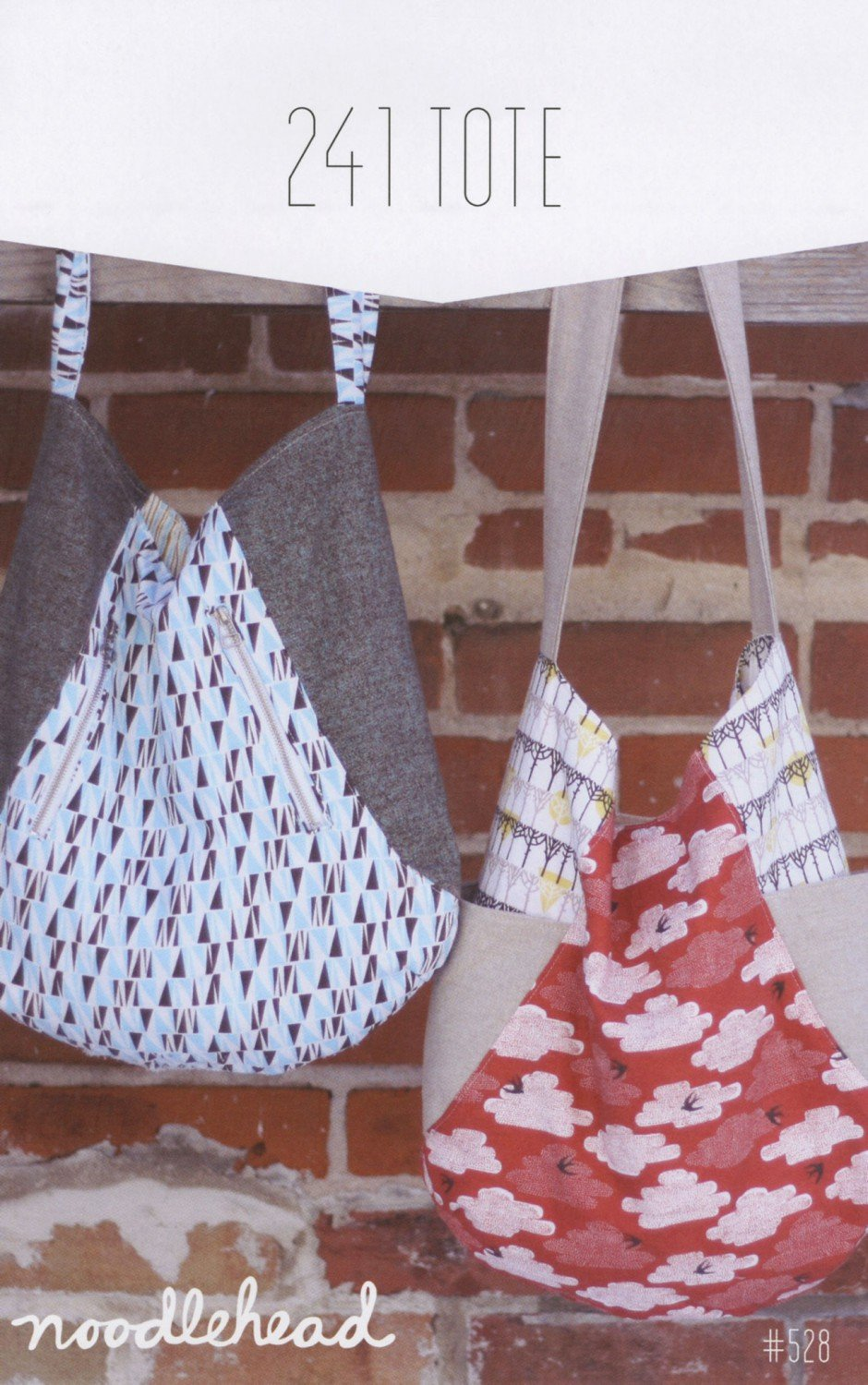 241 Tote Pattern by Noodlehead