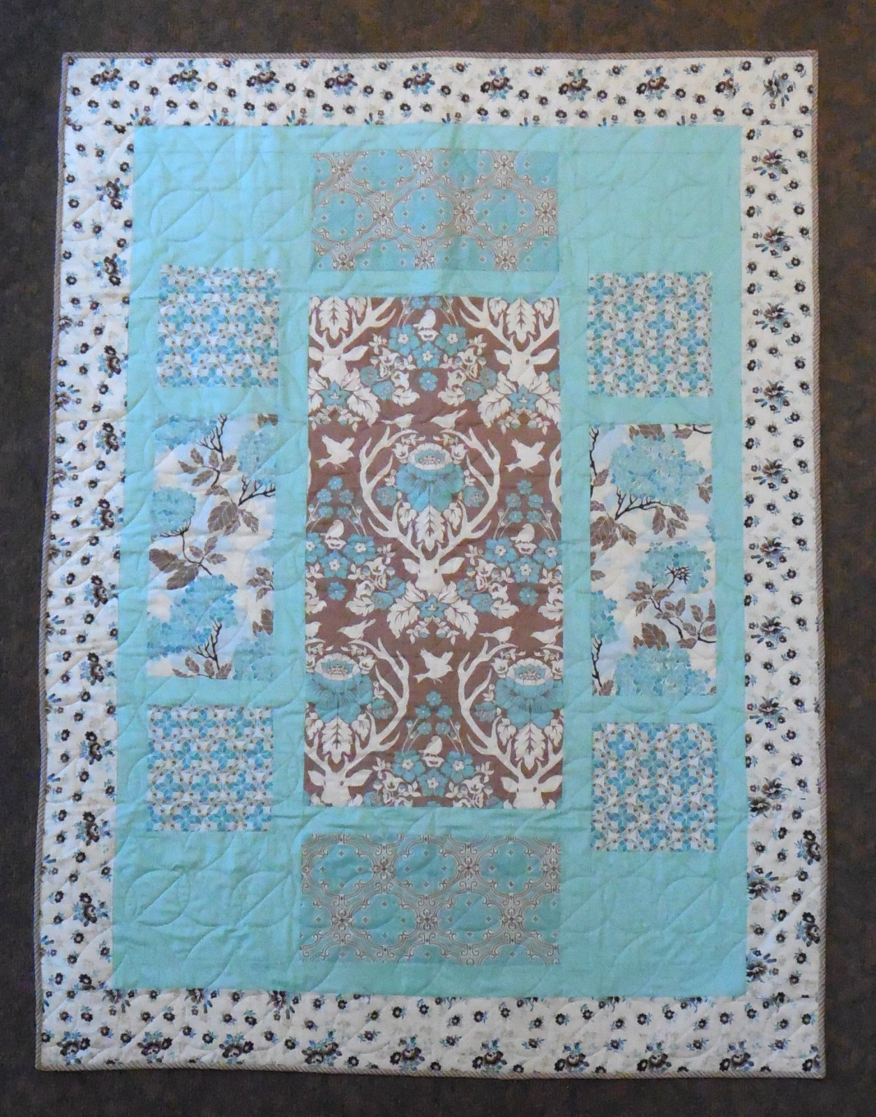 Pacific Grove Quilt Kit 46 x 62