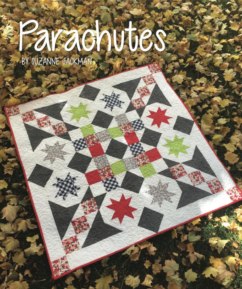 Parachutes Quilt Pattern - 42 x 42