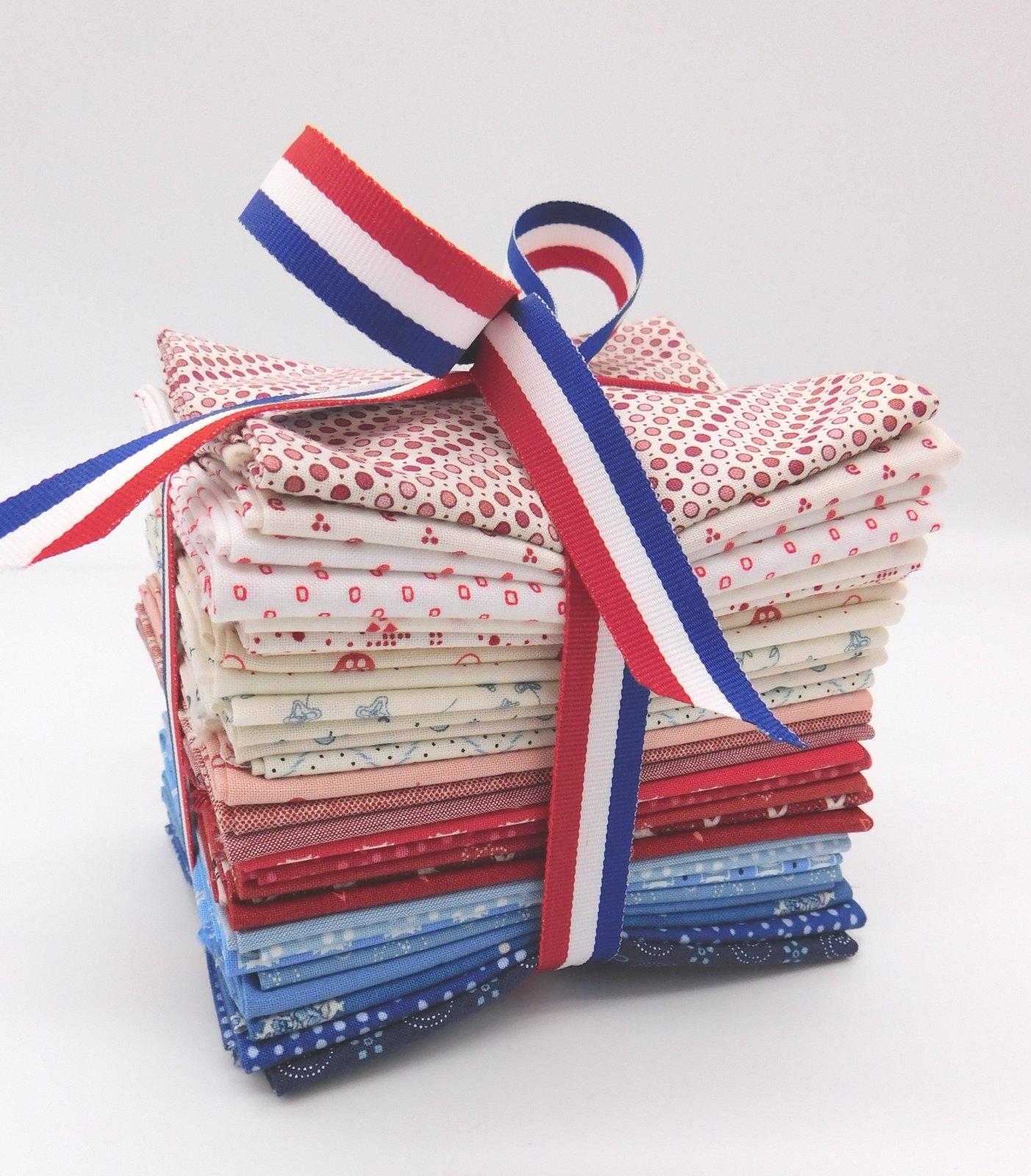 Patriotic Fat Eighth Bundle - 29 piece