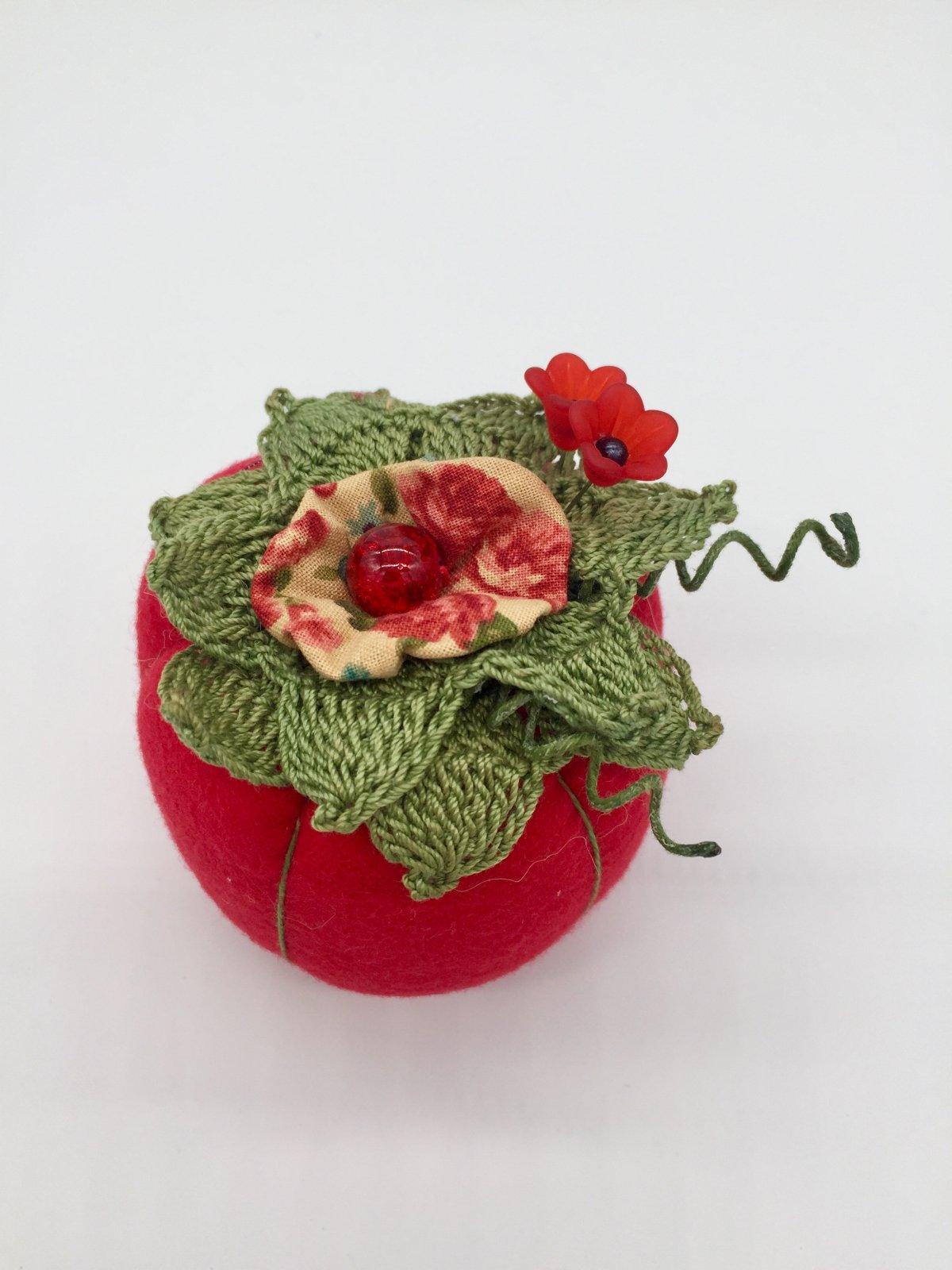 Tomato Pincushion Handmade