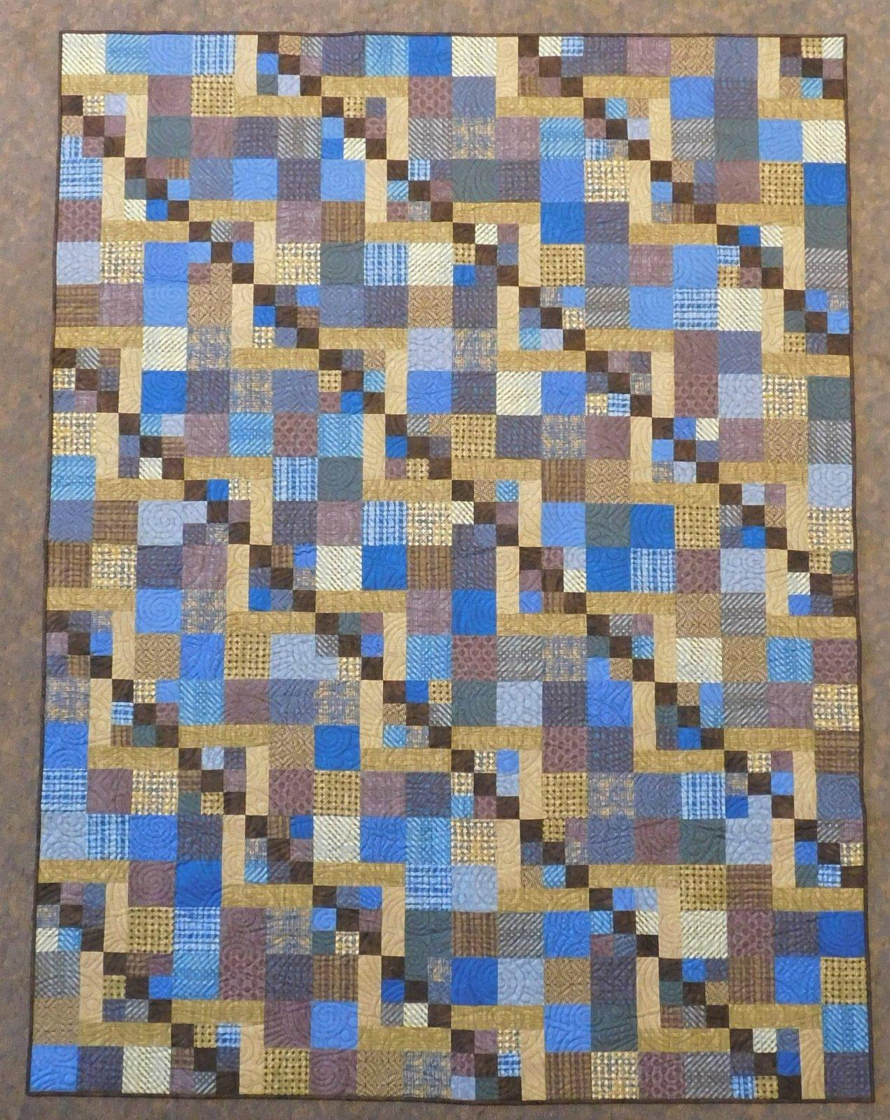Pottery Quilt Kit 72 x 96