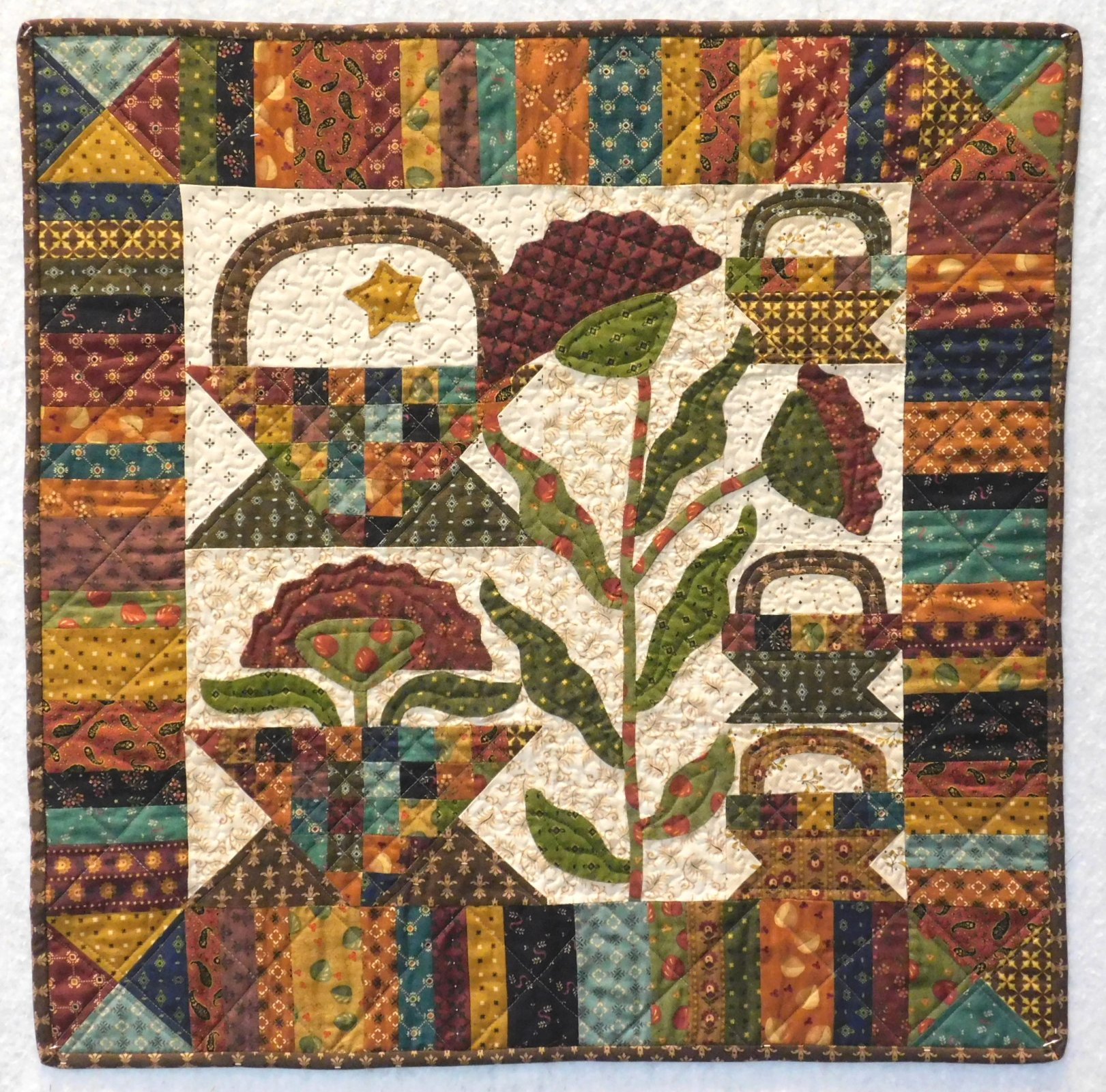 Simple Whatnots 8 - Potting Shed - Quilt Kit - 28.5 x 28.5