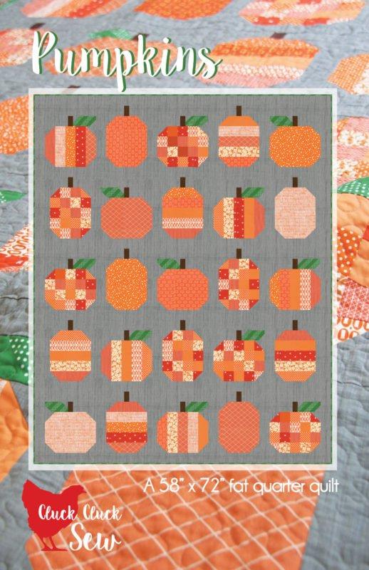 Pumpkins Finished Quilt- 59 x 71