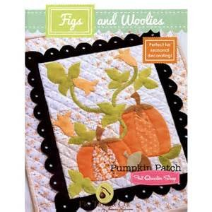 Figs & Woolies - Pumpkin Patch - Wall Quilt Pattern