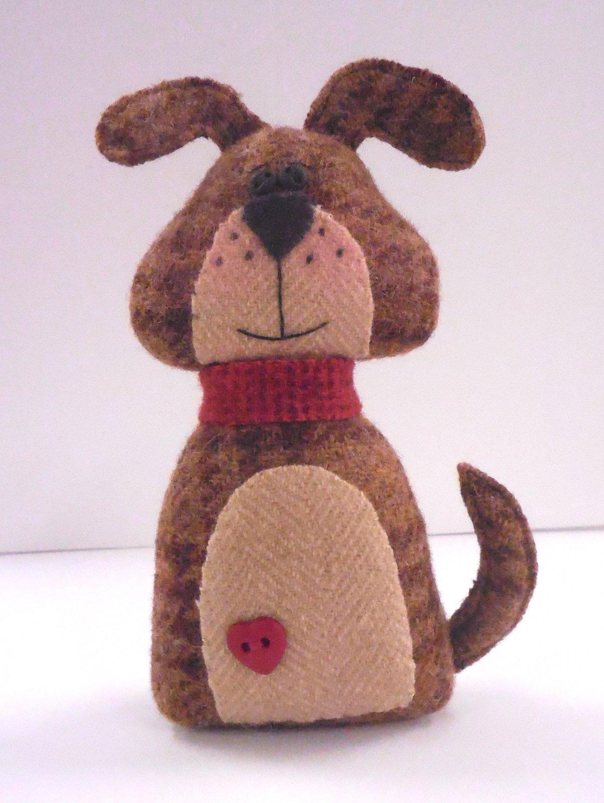 Puppy Love - Pincushion / Pin Keep Wool Kit 6