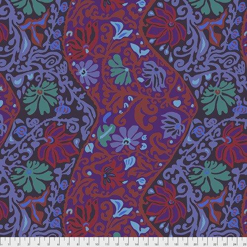 EOB - 1 yard - Bali Brocade - Purple