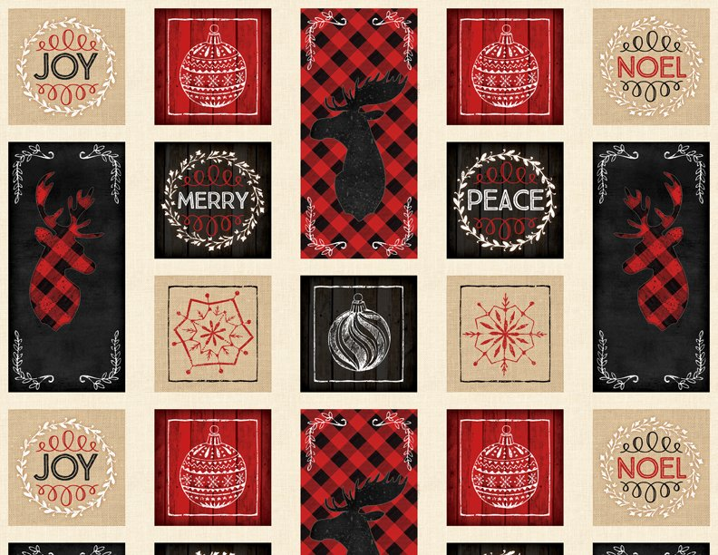 Plaid for the Holidays - Craft Panel - Multi