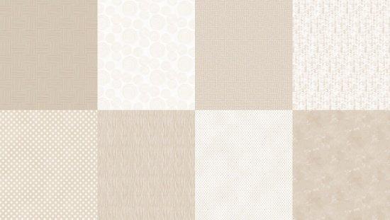 Details - Spectrum Print - Beachsand - 8 FQ Bundle
