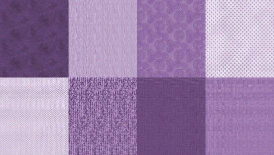 Details - Spectrum Print - Amethyst - 8 FQ Bundle