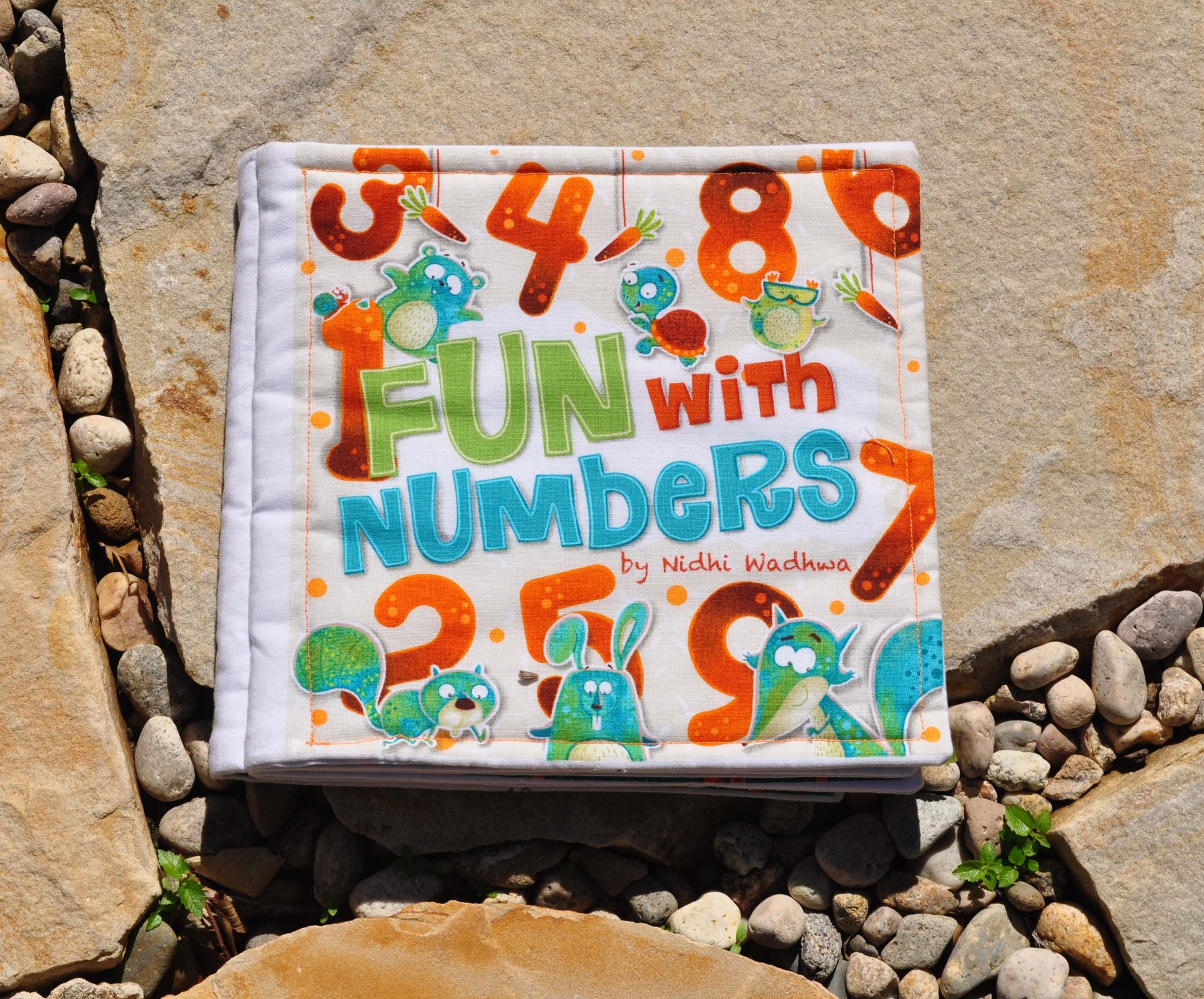 Quiet Book - Fun with Numbers