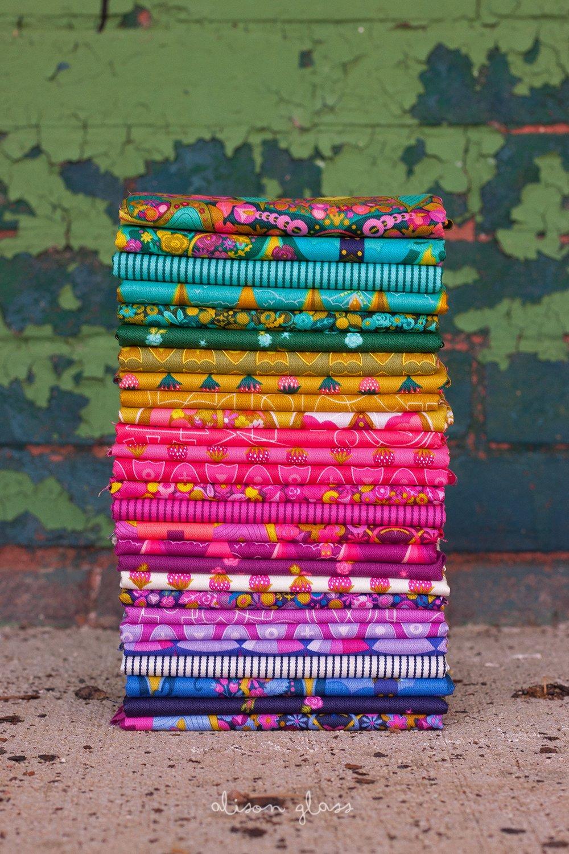 Road Trip by Alison Glass - Fat Quarter Bundle - 27 piece