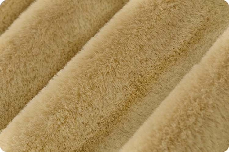 EOB - 1 yard - Luxe Cuddle Seal - 60 Wide - Sand