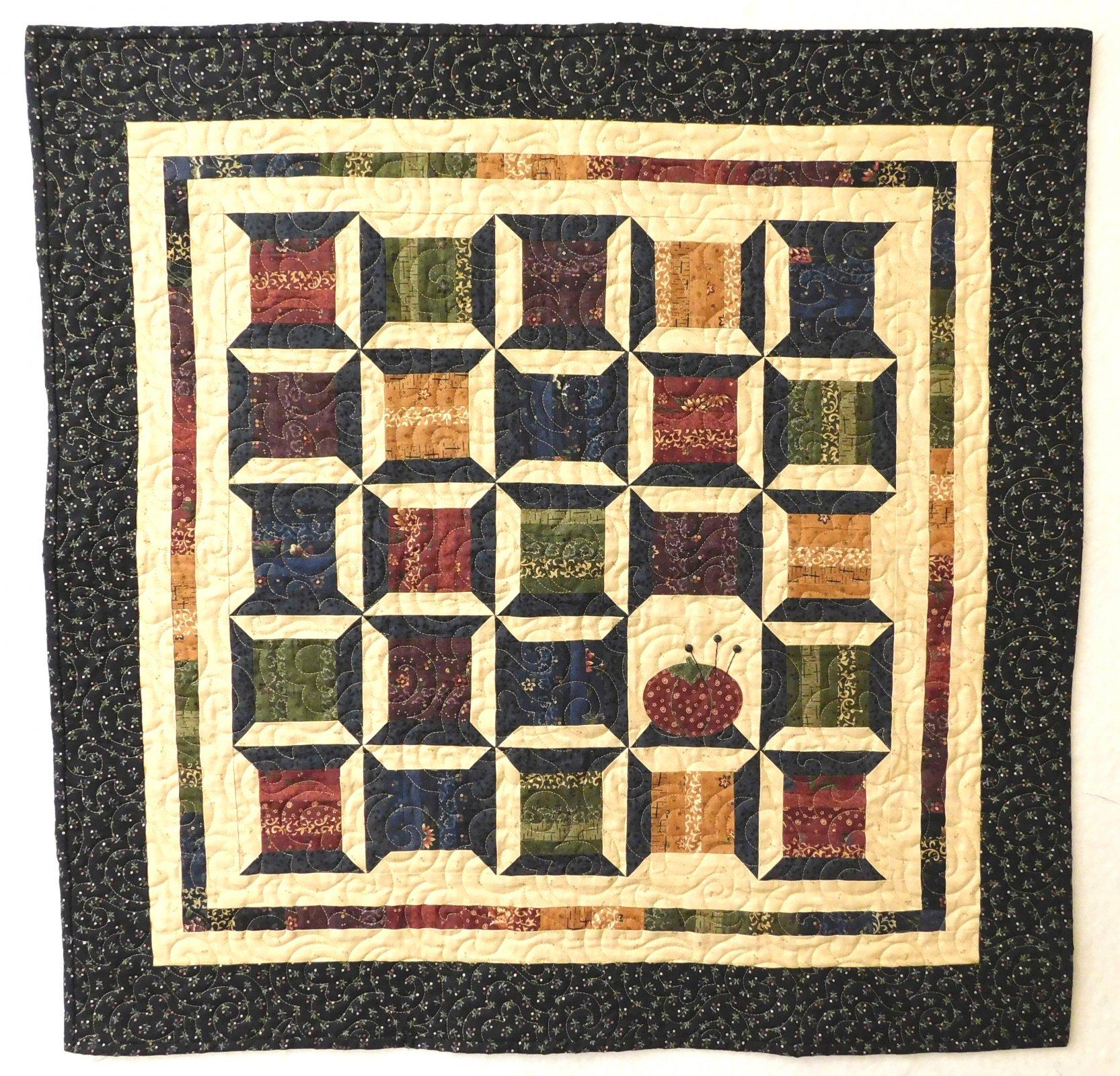 Sew What Kansas Troubles Mini Quilt Kit - 31 x 31