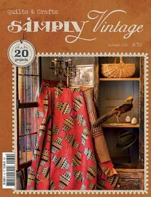 Simply Vintage Quilts & Crafts Magazine - Autumn  2019 - Number 32