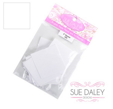 2 Square - English Paper Piecing  - Papers Only