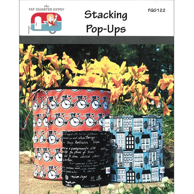 Stacking Pop Ups - Pattern - All Sizes