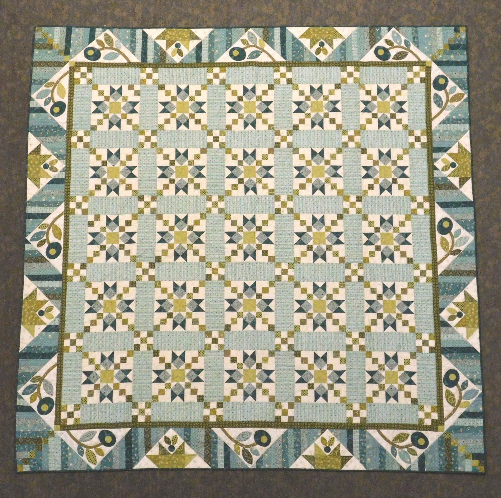 Star Chain by Kim Diehl - Quilt Kit - 72 1/2 x 72 1/2