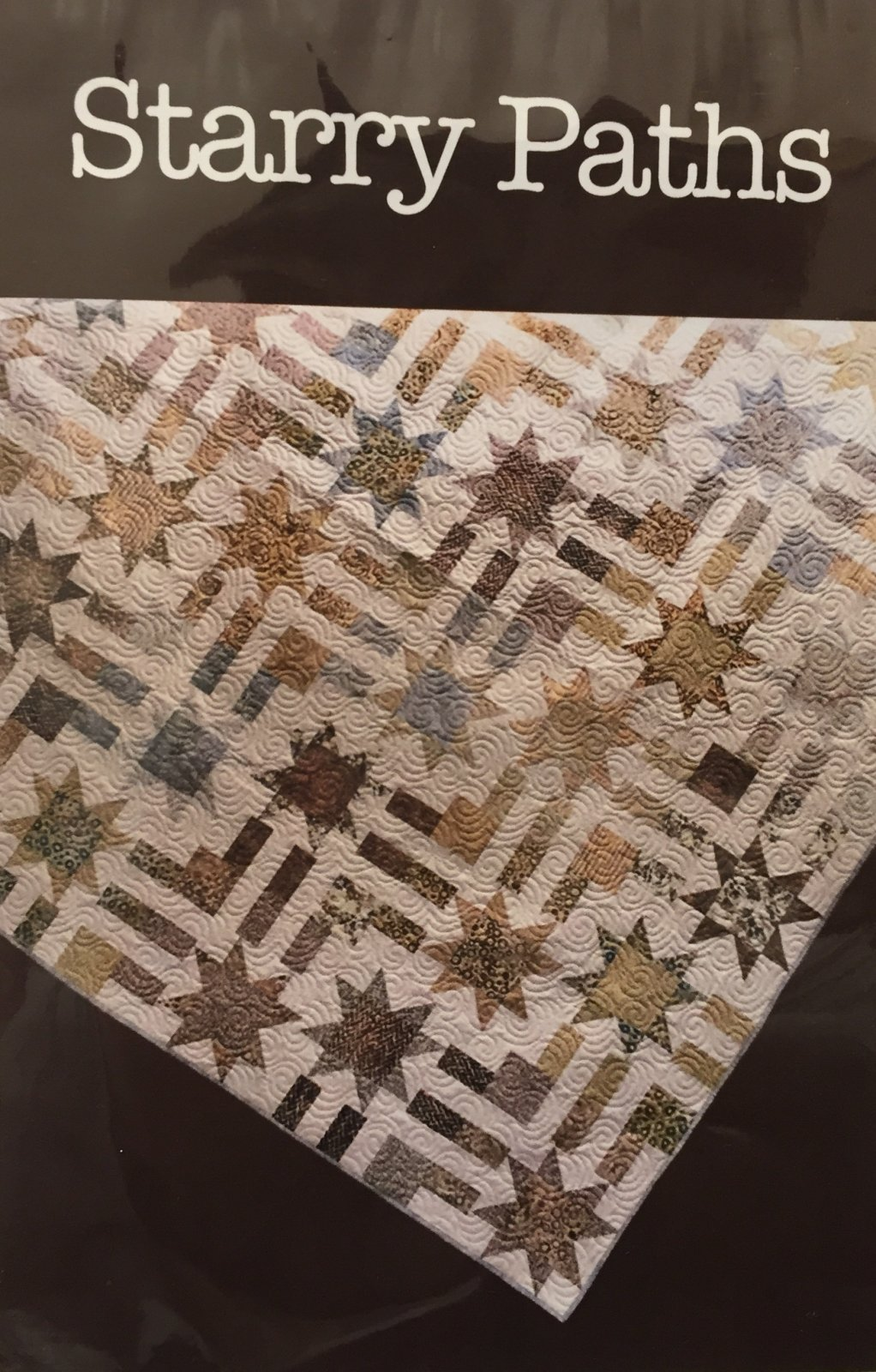 Starry Paths Quilt Pattern - 84 1/2 x 84 1/2