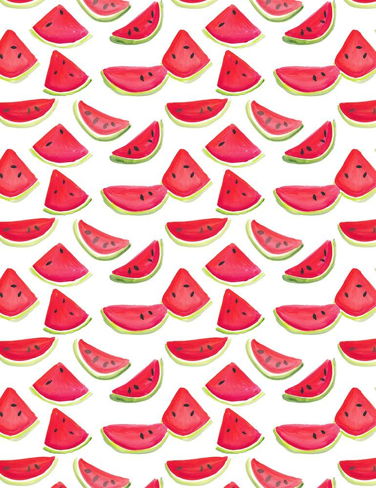 American Summer - Watermelon - White
