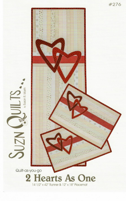 2 Hearts As One - by Suzn Quilts