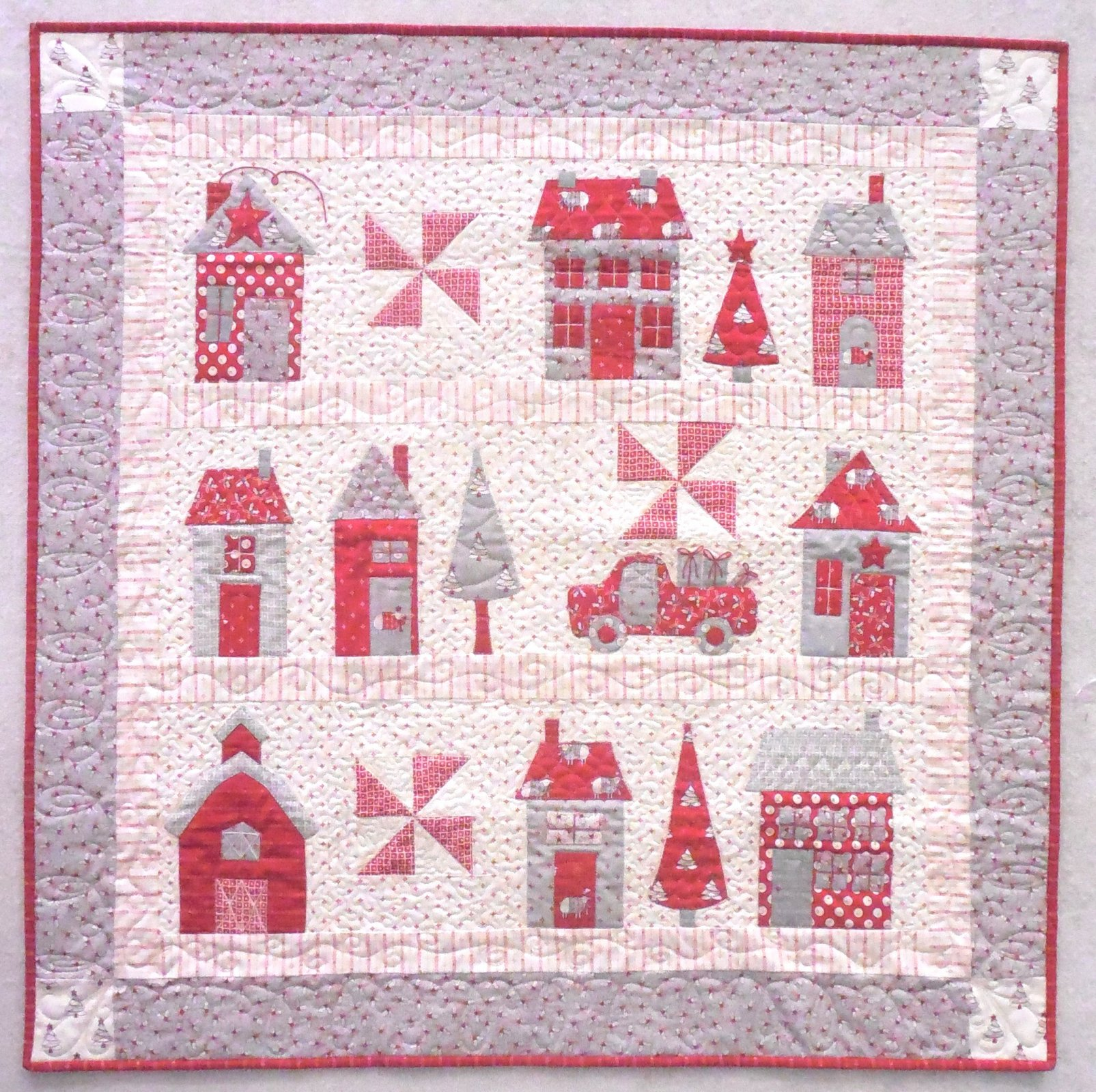 Sweater Weather Quilt Kit 36 1/2 X 36 1/2