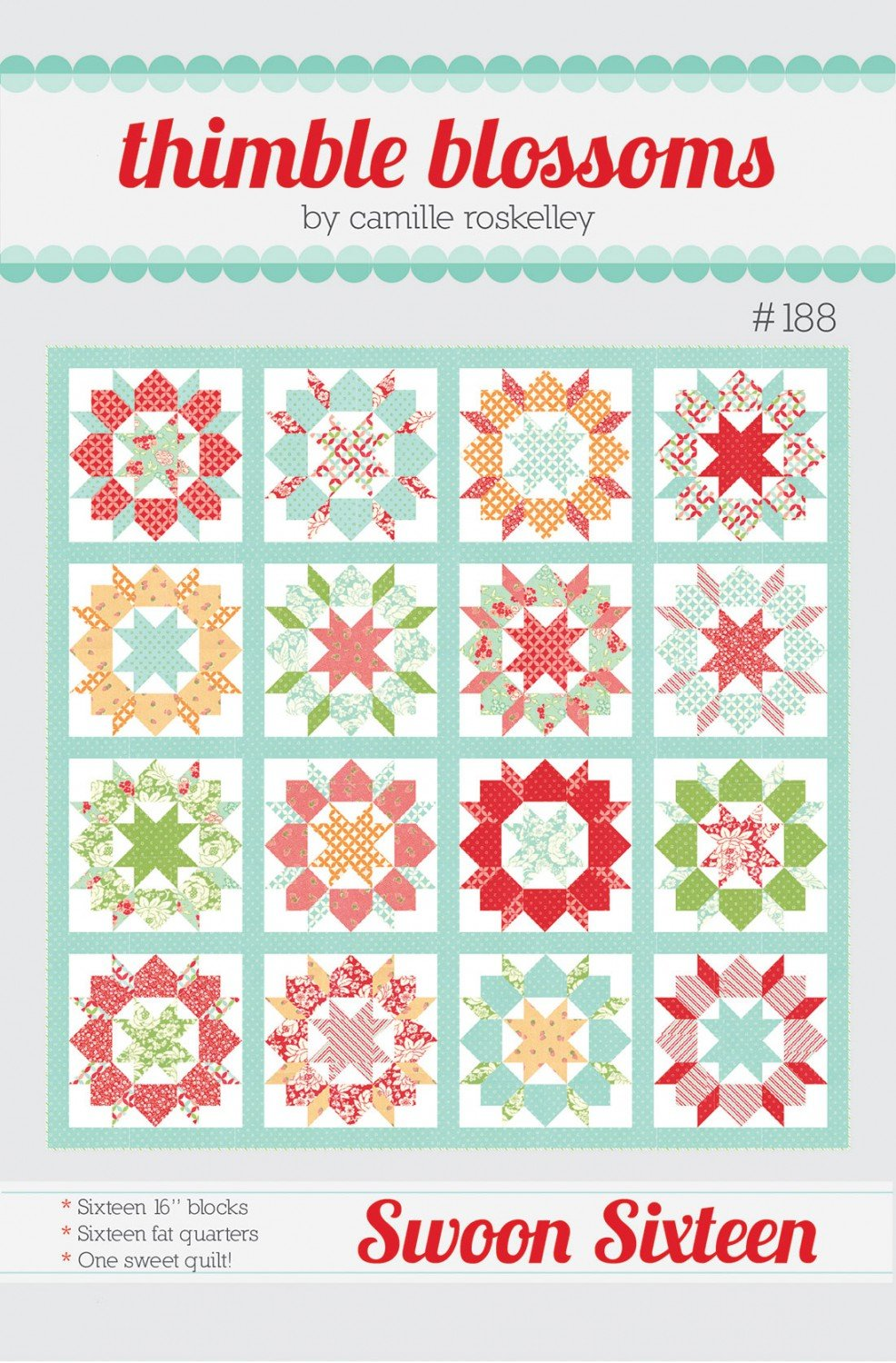 Swoon Sixteen by Thimble Blossoms