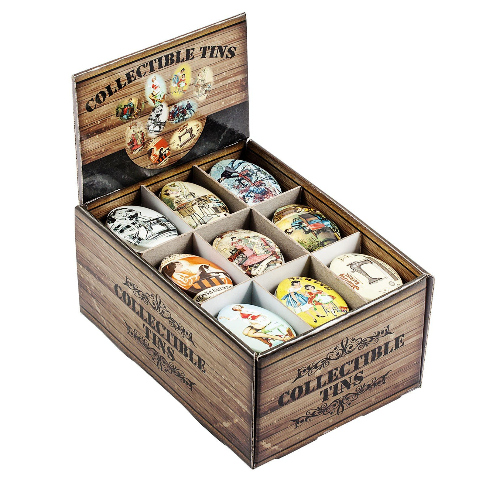 Vintage Style Collectable Tins  Assorted