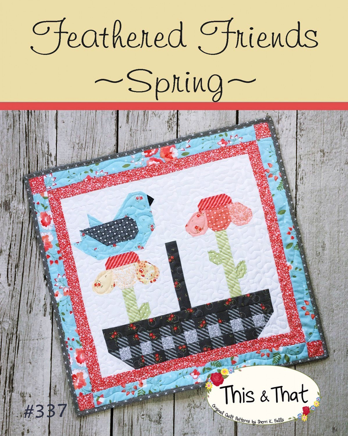 Feathered Friends Spring Mini Quilt Pattern