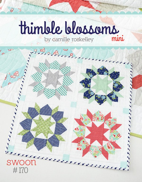 Mini Swoon by Thimble Blossoms Pattern - 19 X 19