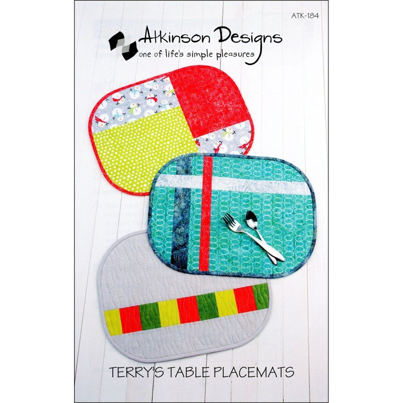 Terry's Table Placemats - by Atkinson Designs