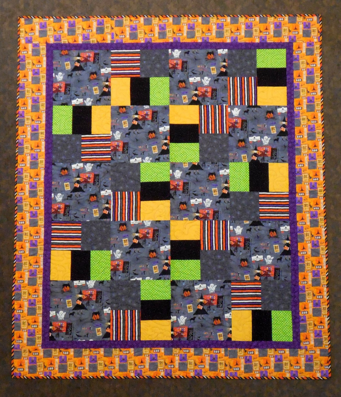 The Witchery quilt kit 63 x 75