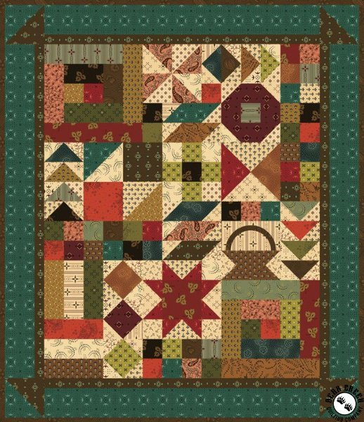Simple Whatnots 9 - This and That Quilt Kit 18 1/2 x 21 1/2