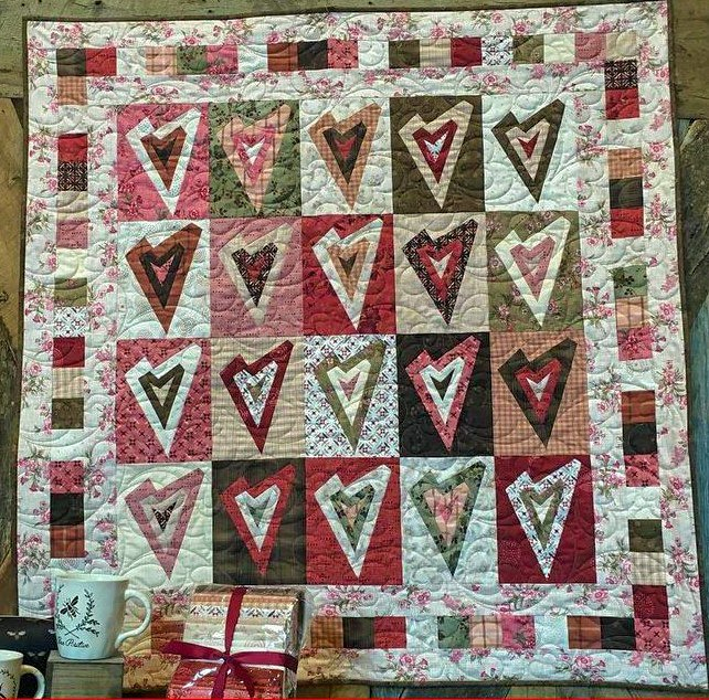Tickled Pink Quilt Kit - 42 x 44