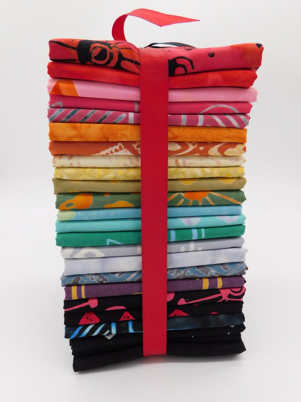 Tie One On Half Yard Bundle 24 piece