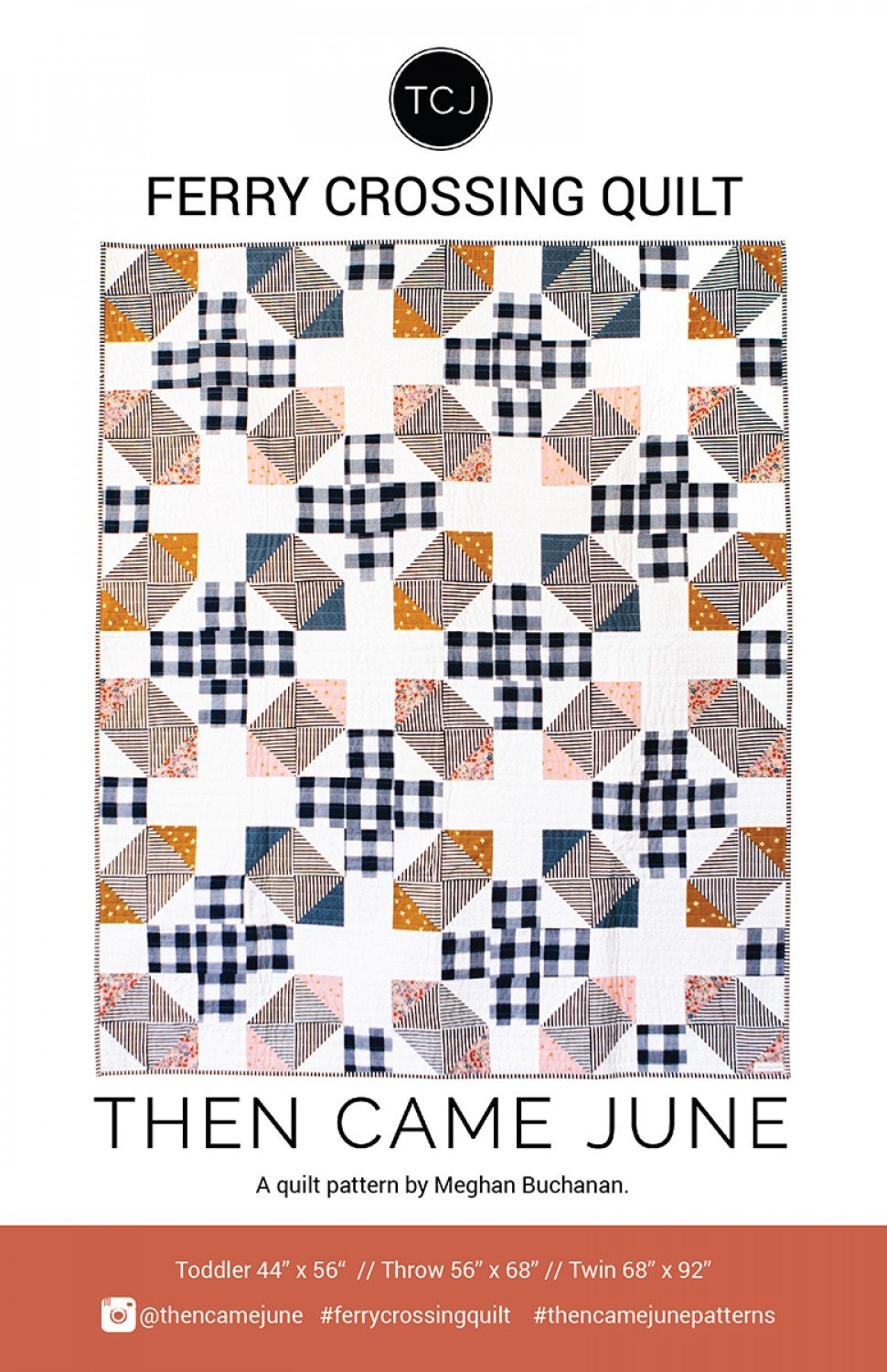 Ferry Crossing Quilt Pattern by Then Came June