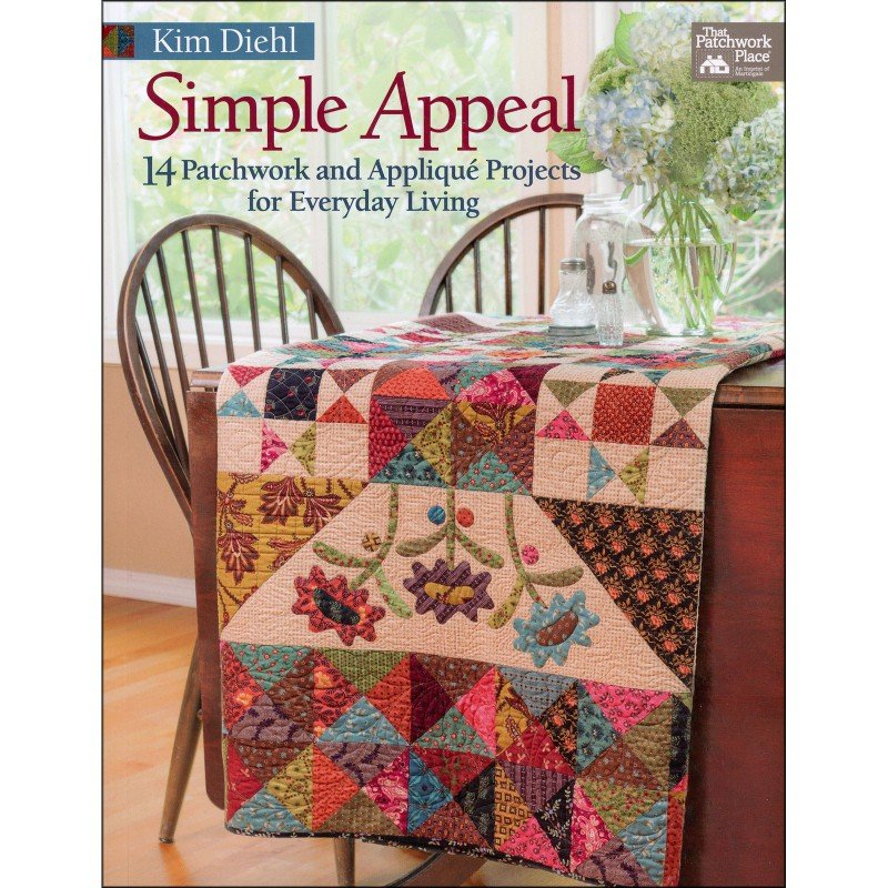 Simple Appeal Quilt Pattern Book by Kim Diehl