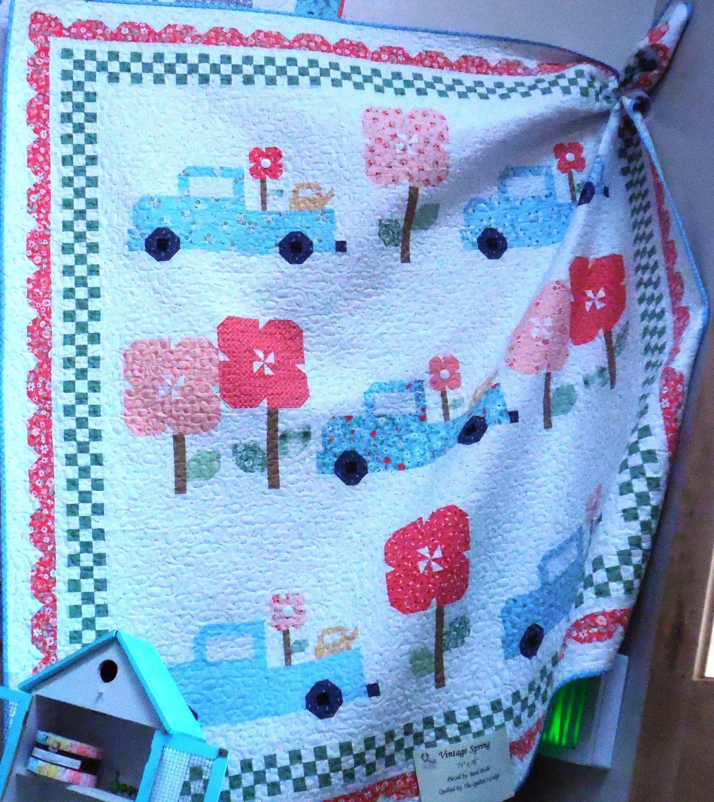 Vintage Spring Quilt Kit - 73 x 76