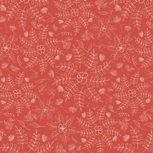 Wild & Free - Crimson Dance - red