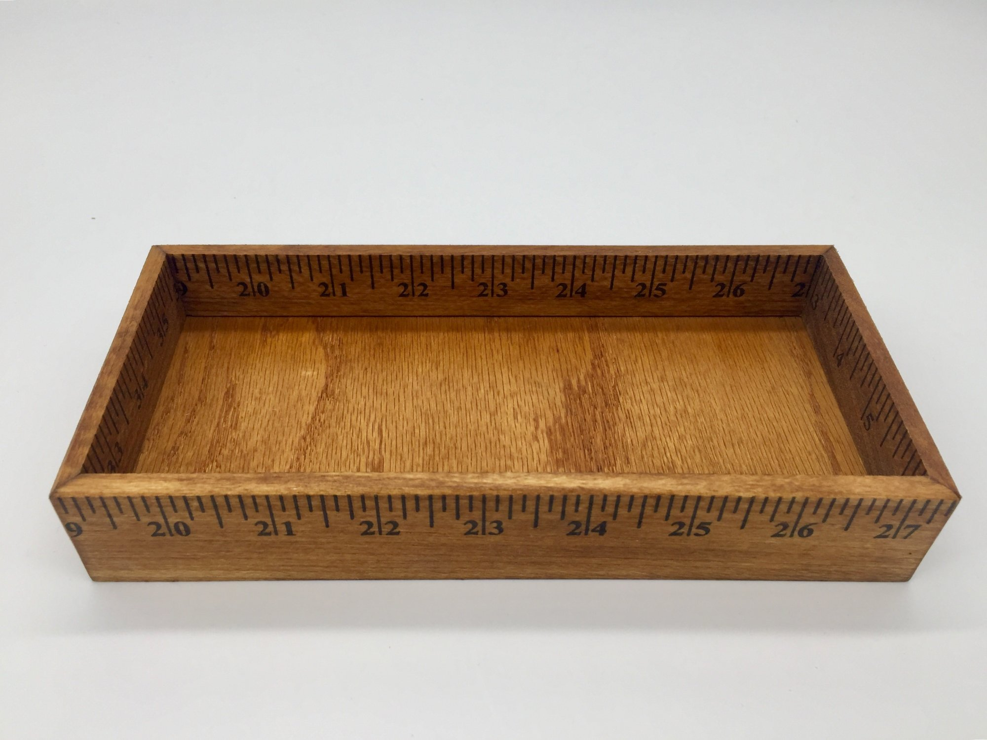 Wooden Ruler Tray