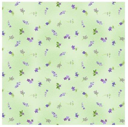 Pre-Order - Flower Shop - Ditsy Floral - Light Mint