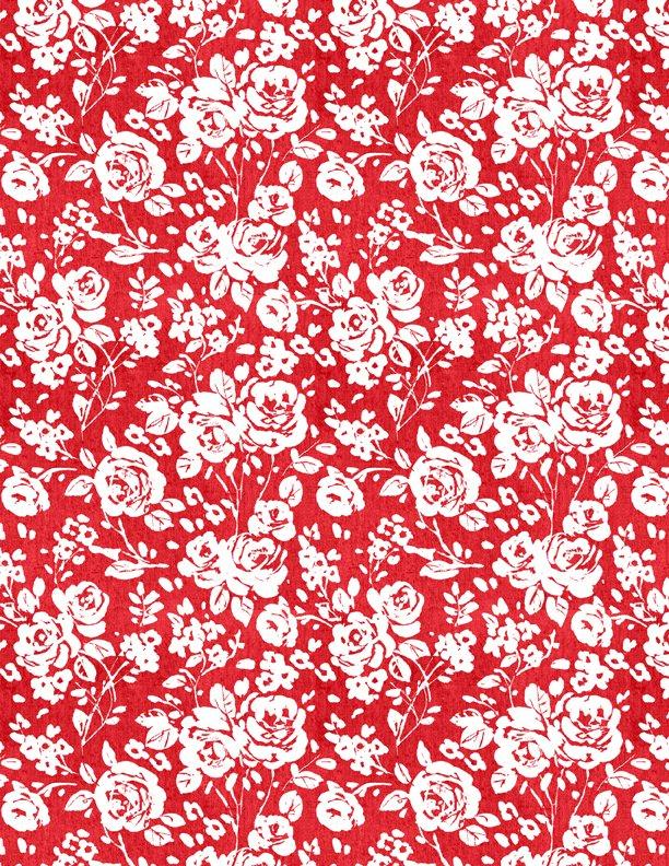 Summertime Roses Red