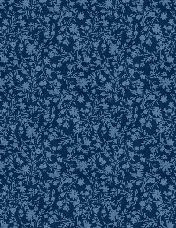 Summertime Twined Floral Blue