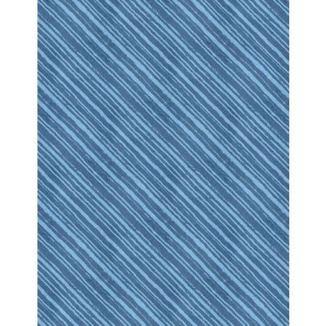 Summertime Diagonal Stripes Blue