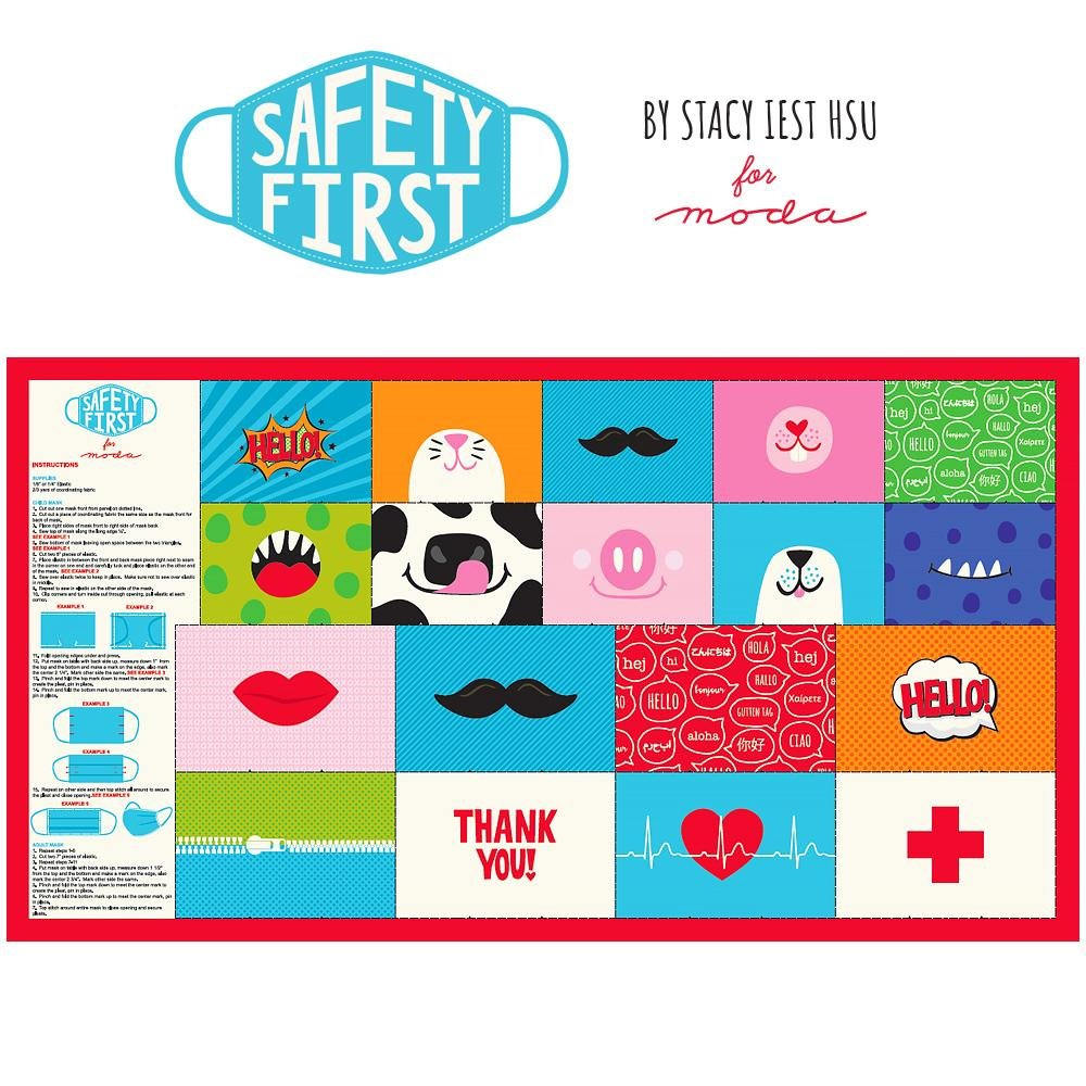 Safety First Face Mask Panel