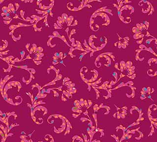 Scroll Dark Fuchsia