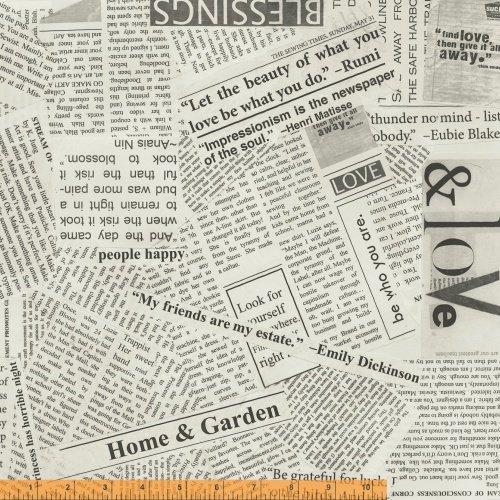 Spackle Story Newsprint