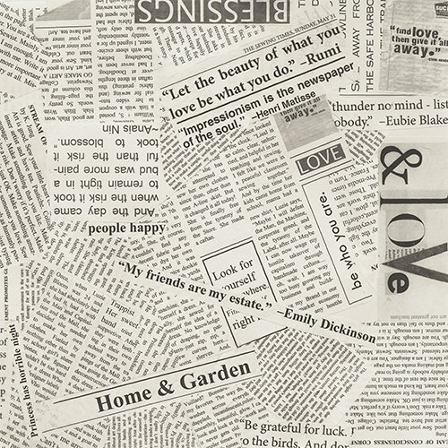 108 Wonder Newspaper Print