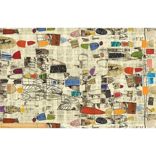 Art History Cream Canvas