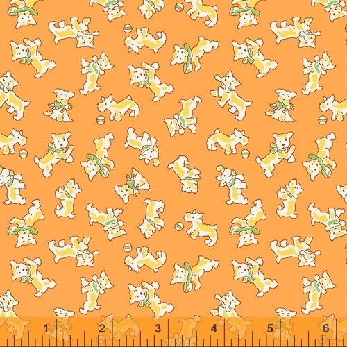 Storybook Orange Puppies